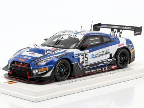 Nissan GT-R Nismo GT3 #35 KCMG 24h Spa 2019 1:43 Spark