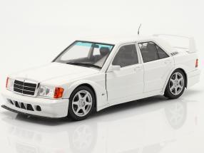 Mercedes-Benz 190E Evo 2 year 1990 white 1:18 Solido