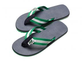 Flip Flops Porsche RS 2.7 Collection size 39-41 green / white / dark blue