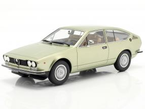 Alfa Romeo Alfetta GT year 1975 light green metallic  Cult Scale
