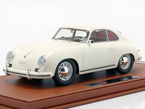 Porsche 356A year 1955 white with showcase 1:18 BBR