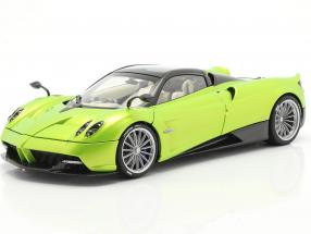 Pagani Huayra Roadster year 2017 light green metallic 1:18 AUTOart