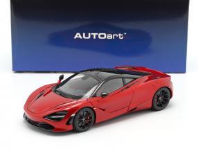 McLaren 720S year 2017 red metallic