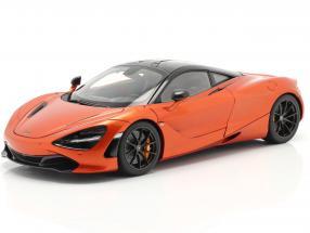 McLaren 720S year 2017 orange metallic 1:18 AUTOart