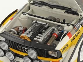 Audi Sport Quattro S1 #5 Winner Rallye SanRemo 1985 Röhrl, Geistdörfer