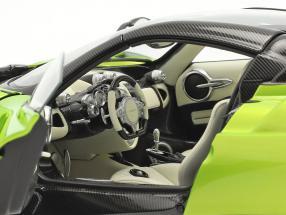 Pagani Huayra Roadster year 2017 light green metallic