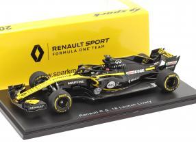 Nico Hülkenberg Renault R.S.18 #27 Launch version formula 1 2018 1:43 Spark