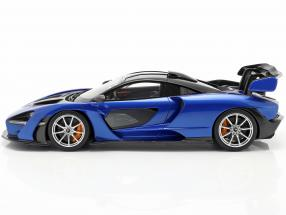 McLaren Senna year 2018 antares blue / black
