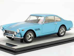 Ferrari 250 GTE 2+2 year 1962 blue metallic 1:18 Tecnomodel