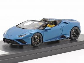 Lamborghini Huracan Evo RWD Spyder year 2019 mat blue metallic 1:43 LookSmart