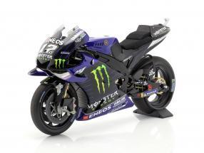 Maverick Vinales Yamaha YZR-M1 #12 MotoGP 2019 1:12 Minichamps