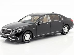 Mercedes-Benz Maybach S-class year 2019 obsidian black 1:18 Almost Real