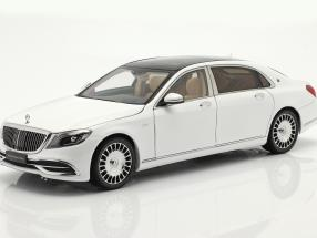 Mercedes-Benz Maybach S-class year 2019 diamond white 1:18 Almost Real