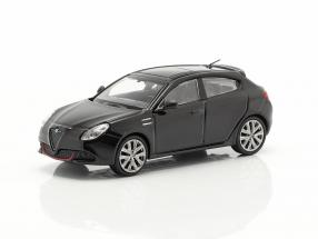 Alfa Romeo Giulietta Veloce year 2017 black 1:87 Minichamps