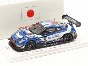Nissan GT-R NISMO GT3 #35 10h Suzuka 2019 Burdon, Chiyo, Matsuda 1:43 Spark
