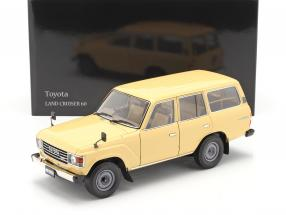 Toyota Land Cruiser 60 year 1980 beige 1:18 Kyosho