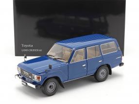 Toyota Land Cruiser 60 year 1980 blue 1:18 Kyosho