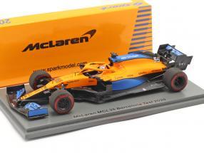 Carlos Sainz Jr. McLaren MCL35 #55 Barcelona test formula 1 2020 1:43 Spark