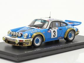 Porsche 911 Carrera RS 3.0 #3 Winner Rally Monte Carlo 1978 Nicolas, Laverne 1:43 Spark