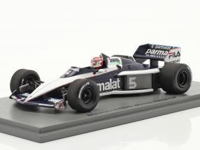 Nelson Piquet Brabham BT52B #5 World Champion Italy GP F1 1983 1:43 Spark