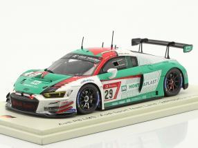 Audi R8 LMS #29 24h Nürburgring 2019 Mies, Rast, Haase, Van der Linde 1:43 Spark