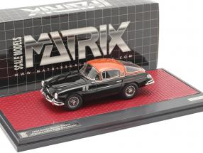 Aston Martin DB2/4 Vignale HRH king Baudouin 1954 black / copper 1:43 Matrix