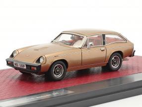 Jensen GT year 1975-1976 gold metallic 1:43 Matrix