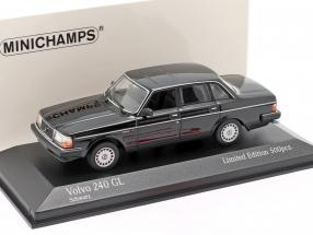 Volvo 240 GL year 1986 black 1:43 Minichamps
