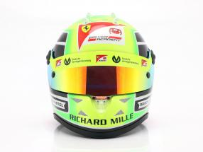 Mick Schumacher Prema Racing #20 formula 2 Champion 2020 helmet 1:2 Schuberth