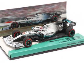 L. Hamilton Mercedes-AMG F1 W10 #44 German GP World Champion F1 2019 1:43 Minichamps