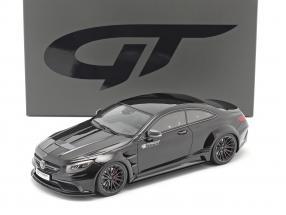Mercedes-Benz S-class Prior Design PD75SC 2017 obsidian black 1:18 GT-Spirit