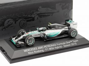 Nico Rosberg Mercedes F1 W06 Hybrid #6 Formel 1 2015 1:43 Minichamps MB