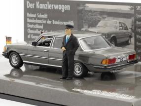 Mercedes-Benz 350 SEL (W116) Chancellor Helmut Schmidt 1972