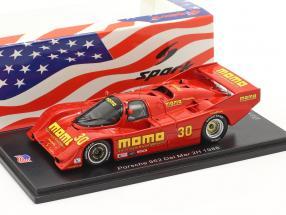 Porsche 962 #30 2h Del Mar 1988 Moretti, Phillips 1:43 Spark