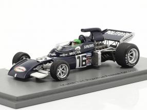 Henri Pescarolo March 721 #16 Practice France GP formula 1 1972 1:43 Spark