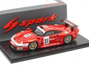 Porsche 911 GT1 #27 24h LeMans 1997 Martini, Pescatori, Hermann 1:43 Spark