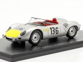 Porsche 718 RS61 #136 Targa Florio 1961 Moss, Hill 1:43 Spark