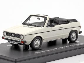 Volkswagen VW Golf 1 Cabriolet prototype 1976 white 1:43 AutoCult