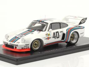Porsche 935 #40 Practice 24h LeMans 1976 Stommelen, Schurti 1:43 Spark