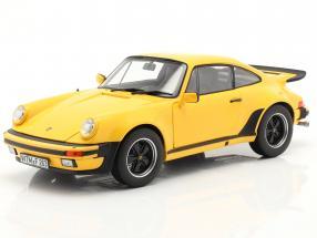 Porsche 911 (930) Turbo 3.0 year 1976 yellow 1:18 Norev
