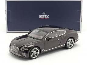 Bentley Continental GT year 2018 damson metallic 1:18 Norev
