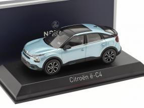 Citroen e-C4 year 2020 iceland blue 1:43 Norev