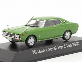 Nissan Laurel Hardtop 2000 year 1972 green 1:43 Norev