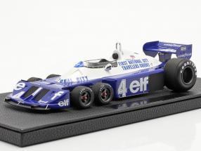Patrick Depailler Tyrrell P34 six wheels #4 formula 1 1977 1:18 GP Replicas