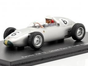 Joakim Bonnier Porsche 718 F2 #6 2. Space GP South Africa 1960 1:43 Spark