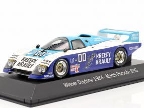 March Porsche 83G #00 Winner 24h Daytona 1984 Kreepy Krauly Racing 1:43 Spark