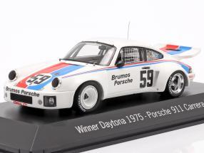 Porsche 911 Carrera RSR #59 Winner 24h Daytona 1975 Brumos Porsche 1:43 Spark
