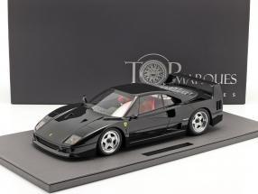 Ferrari F40 year 1987 black 1:12 TopMarques