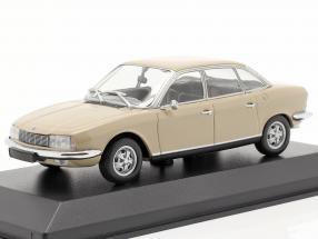NSU Ro 80 year 1972 sahara beige 1:43 Minichamps
