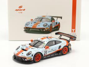Porsche 911 GT3 R #20 Winner 24h Spa 2019 Dirty Race Version 1:18 Spark